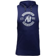 Gorilla Wear Lawrence Hooded Tank Top - Marineblauw - 2XL
