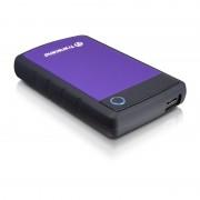 "HDD EXTERNAL 2.5"", 500GB, Transcend StoreJet , USB3.0, Rubber Case, Anti-Shock (TS500GSJ25H3P)"