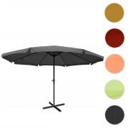 Sonnenschirm Meran Pro, Gastronomie Marktschirm mit Volant Ø 5m Polyester/Alu 28kg ~ Variantenangebot