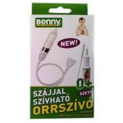 dr. Benny szájjal szívható orrszívó szett 1x *
