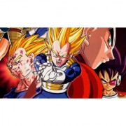 vegeta legacy sticker poster dragon ball z poster anime poster size:12x18 inch multicolor