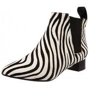 Clarks Women's Lulworth Cove Animal Print Leather Boots - 3.5 UK
