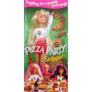 Skipper Doll Pizza Party Barbie Mattel 1994