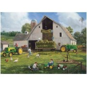 Great American Puzzle Factory John Deere Haying Days 1000 Piece Jigsaw Puzzle