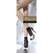 Fiore - Elegant patterned socks Janet 30 denier