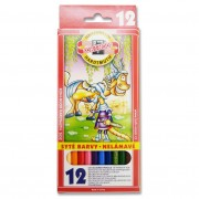 Creioane colorate Koh-I-Noor 12 bucati / set K365212