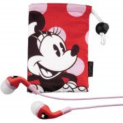 EKids Minnie Mouse Noise Isolating Earphones With Pouch, By IHome - DM-M153