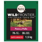 Nutro Wild Frontier Adult Pavo y pollo pienso para gatos - 1,5 kg