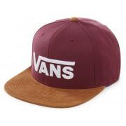 VANS Men´s cap Drop V II Snapback Prune/Khaki VN0A36ORTQV1