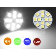NTR LEDC05 12 LED 3W autó lámpa 12V DC G4 foglalat 6000K hideg-fehér