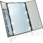 Draagbare LED Make-up Spiegel - Met verlichting!