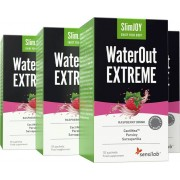 Sensilab SlimJoy WaterOut Extreme 4 Packungen Kraftvolles natürliches Diuretikum mit 4-in-1-Wirkung Schnell Abnehmen Sensilab