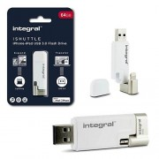 Integral Ishuttle Usb-Lighting Apple 64gb 3.0
