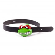 Turtles - Belt med Angry Raphael Buckle