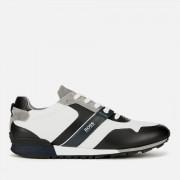 BOSS Men's Parkour Mesh Running Style Trainers - Open Grey - UK 9 - Grey