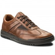 Обувки CLARKS - Unrhombus Fly 261302407 Tan Leather