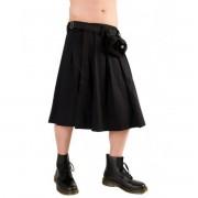 Black Pistol skótszoknya - Short Kilt Denim Black - B-2-10-001-00