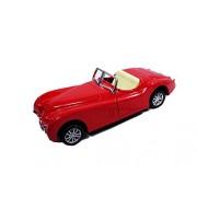 Emob 1:32 Die Cast Metal Master Classic Convertible Pull Back Vintage Car for Kids (Convertible Car)