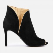 MICHAEL MICHAEL KORS Women's Harper Heeled Shoe Boots - Blaxk - UK 7/US 10 - Black