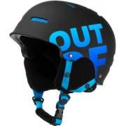 Out Of Wipeout Casque de ski/snowboard (Noir/Bleu)