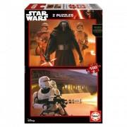 Educa Star Wars VII: Az ébredő Erő puzzle, 2x100 darabos