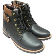 Elvace Coffee Boot for Men-5051