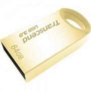 Памет Transcend 64GB JetFlash 710, USB 3.0, Gold Plating - TS64GJF710G