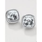 Uta Raasch Dames Oorstekers met kristallen van Swarovski® Van Uta Raasch zilverkleur