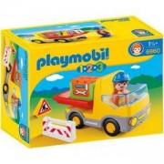 Комплект Плеймобил 6960 - Строителна машина, Playmobil, 291235