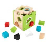 KidKraft Shape Sorting Cube, Multi Color