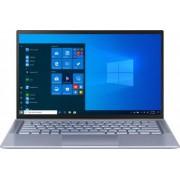 Ultrabook ASUS ZenBook 14 UM431DA AMD Ryzen 7 3700U 512GB SSD 16GB Radeon RX Vega 10 FullHD Win10 Tast. ilum. Utopia Blue Bonus Geanta Laptop ASUS Nereus