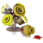 Tomorrows Kitchen Pojemniki na przyprawy PopSome Herbs & Spices 6 szt.