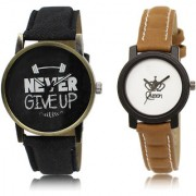 The Shopoholic Black White Combo Latest Fashionable Black And White Dial Analog Watch For Boys And Girls Watches For Men Casuals