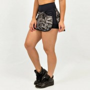 GraffitiBeasts Mr. Wany - Sport Skirt Dames met binnenbroek en pockets om heerlijk in te sporten. - Multicolor - Size: Large
