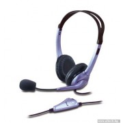 HEADPHONES, Genius HS-04S, Microphone, Volume control (31710025100)