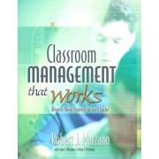 Classroom Management That Works: Research-Based Strategies for Every Teacher, Paperback/Robert J. Marzano