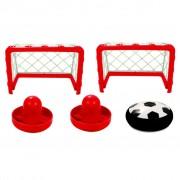 Air Hockey Airhockey fem delar inomhus airhockey-set AIR002