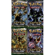 4 (Four) Packs Pokemon Xy Fates Collide Booster Packs (10 Cards Per Pack)