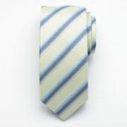 Silk tie 2926 in greenish color
