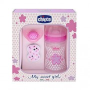 "Chicco Set Regalo Well-Being Silicona""Efecto Mamá"" Rosa 0M+"