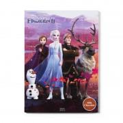 Xenos Adventskalender met chocolade - Frozen 2 - 50 g