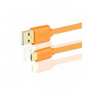 AXAGON BUMM-AM05QO, Kabel USB 2.0 MicroUSBUSB Type-A,Narančasti BUMM-AM05QO