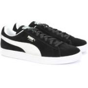 Puma Suede Classic+ Sneakers For Men(Black)