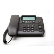 Gigaset DA260 Black Premium corded Telephone with caller id speakerphone