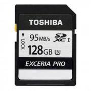 exceria SD Toshiba de 128 GB pro U3 - ( THN - N401S1280C4 )