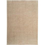 benuta NATURALS Alfombra de lana Nesta Crema 140x200 cm - Alfombra natural para dormitorio y salon
