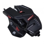 Mad Catz R.A.T. 6+ Gaming Mouse (USB/Black/12000dpi/11 Buttons) - MMR04DCIN