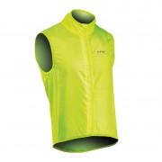 Northwave Vortex Vest kerékpáros szélmellény fluo sárga XL