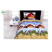 "Детско спално бельо ""Angry Birds Rio"" – 100% Памук"