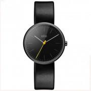 Braun orologi orologio da donna in pelle nera Bn0172b...